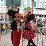 Meeting Mickey and Minnie!