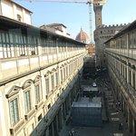 Central Uffizi piazza