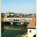 From the Uffizi window