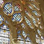 Rosace de la façade de la Sainte Chapelle