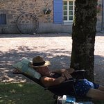 Relaxation at Manzac Ferme!