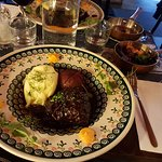 Beef cheeks from the main menu