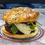Double burger docker version végétarienne