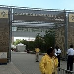 Champions Square Just Outside The Superdome