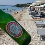 Cold beer and nice beach