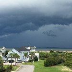 Storm coming in to Tybee