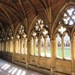 Lincoln Cathedral - cloisters