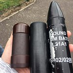 rubber and plastic bullets