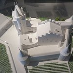 maquette van chateau Aigle