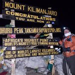 The summit before sunrise