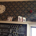 Bee-themed wallpaper