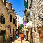 Cute Trogir Old Town street