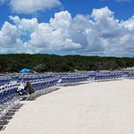 NOT ALLOWED TO SIT ON EMPTY BEACH CHAIRS AFTER PAYING $210 FOR EXCURSION!
