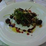 Escargots aux artichauts & amandes