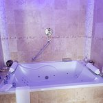 Our Jacuzzi bath for two
