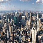 Panoramic view of city from the Empire State Building