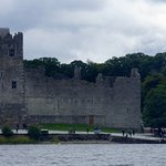 View from boat back towards Ross Castle