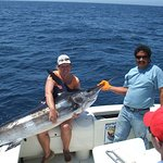 Kelly's first Marlin