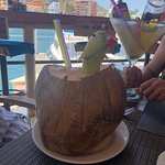 giant coconut drink