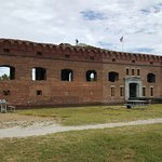 Front of Fort Jefferson