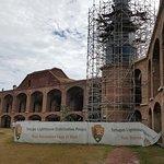 Lighthouse restoration project