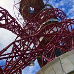 View looking up at The Orbit