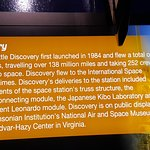 The Space Shuttle Discovery history and achievements.
