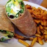 California  Vegetarian Wrap