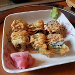 Fried Maki with Scallop