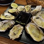 Oysters with Cheese