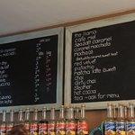 brew menu.