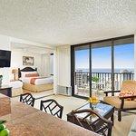 Aston at the Waikiki Banyan - Deluxe Bedroom Ocean