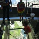 Space Needle glass floor