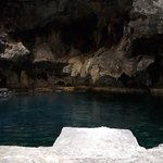 Cave and sulfur pool