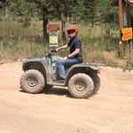 My son preferred the ATV.
