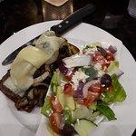 Open Face Steak Sandwich