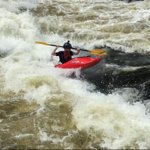 This is the last day of the camp on the Ottawa River surfing Garburator!