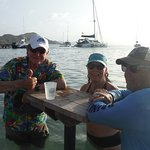 Beverage Tables in the water..........Can't get much better than this!