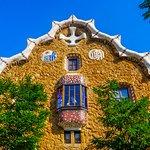 Gaudi's modernist park on Carmel hill