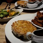 The fabulous Steak and Ale pie!