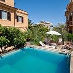 Solarium terrace and swimming pool