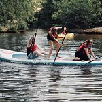 The XL paddle board