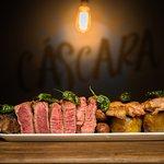 The Cáscara mixed grill