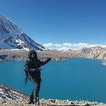 It's a amazing trekking with my friends. I did my amazing trekking.