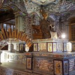 The tomb of one of the kings (this is unbelievable) the colors are individual pieces of tiles/gl