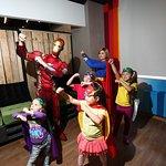 Тематическая вечеринка в стиле Супергероев