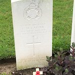 My great uncle. Died aged 19, two months before the war ended