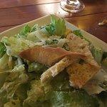 Caesar salad, no anchovies ($8.00)