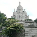 Sacre-Couer , on the way to the top