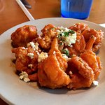 Buffalo Shrimp with Blue Cheese